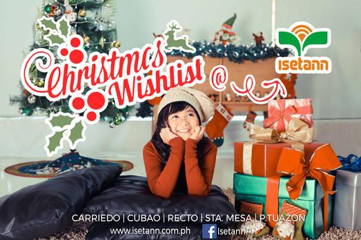 Christmas Wishlist Print Ad