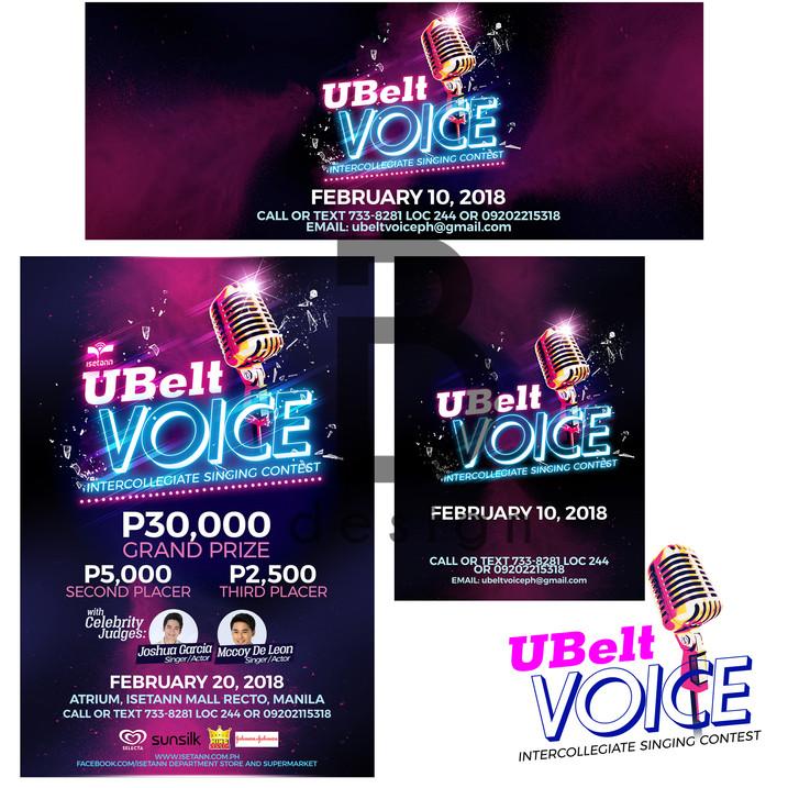 UBelt Voice Logo and Print Study