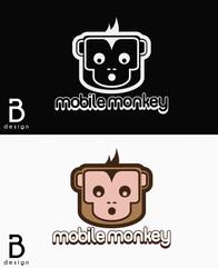 Mobile Monkey Logo Study