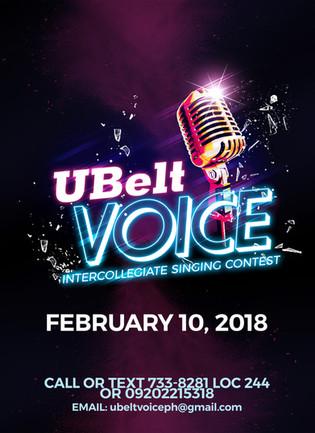 Ubelt Voice Poster Study