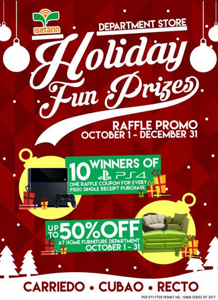 Holiday Fun Prizes