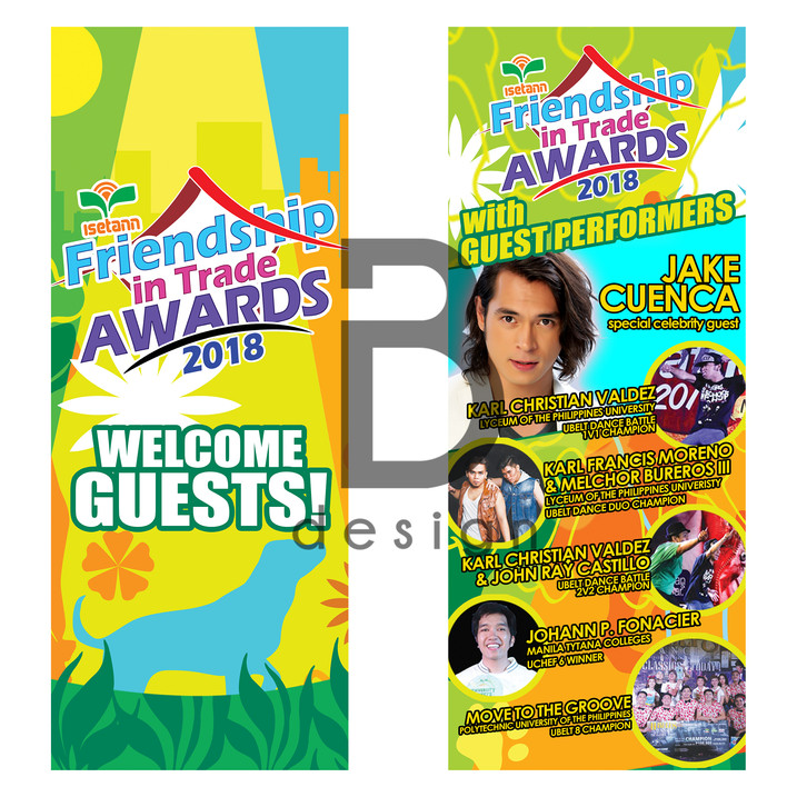 Friendship in Trade Awards 2018 Posters