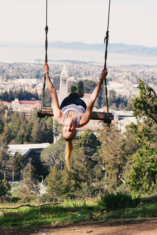 Ariana at the Big C swing!