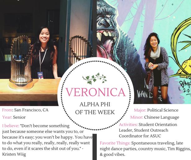Phi of the Week: Veronica
