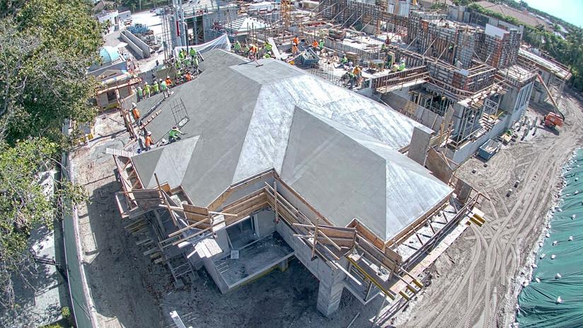 70,000 Sq.Ft. Concrete Mansion in Florida