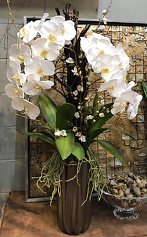 White silk orchids with white quince and twigs.jpg