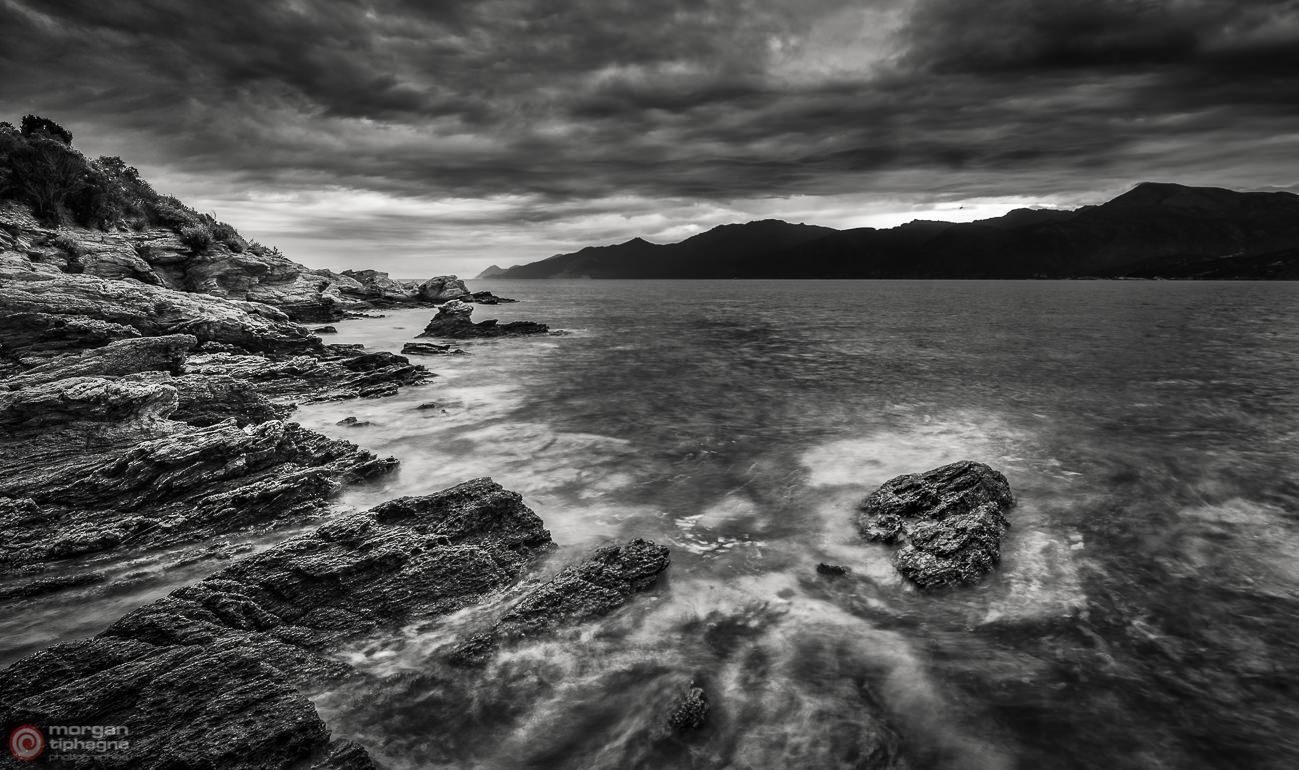 Rocks in the bay