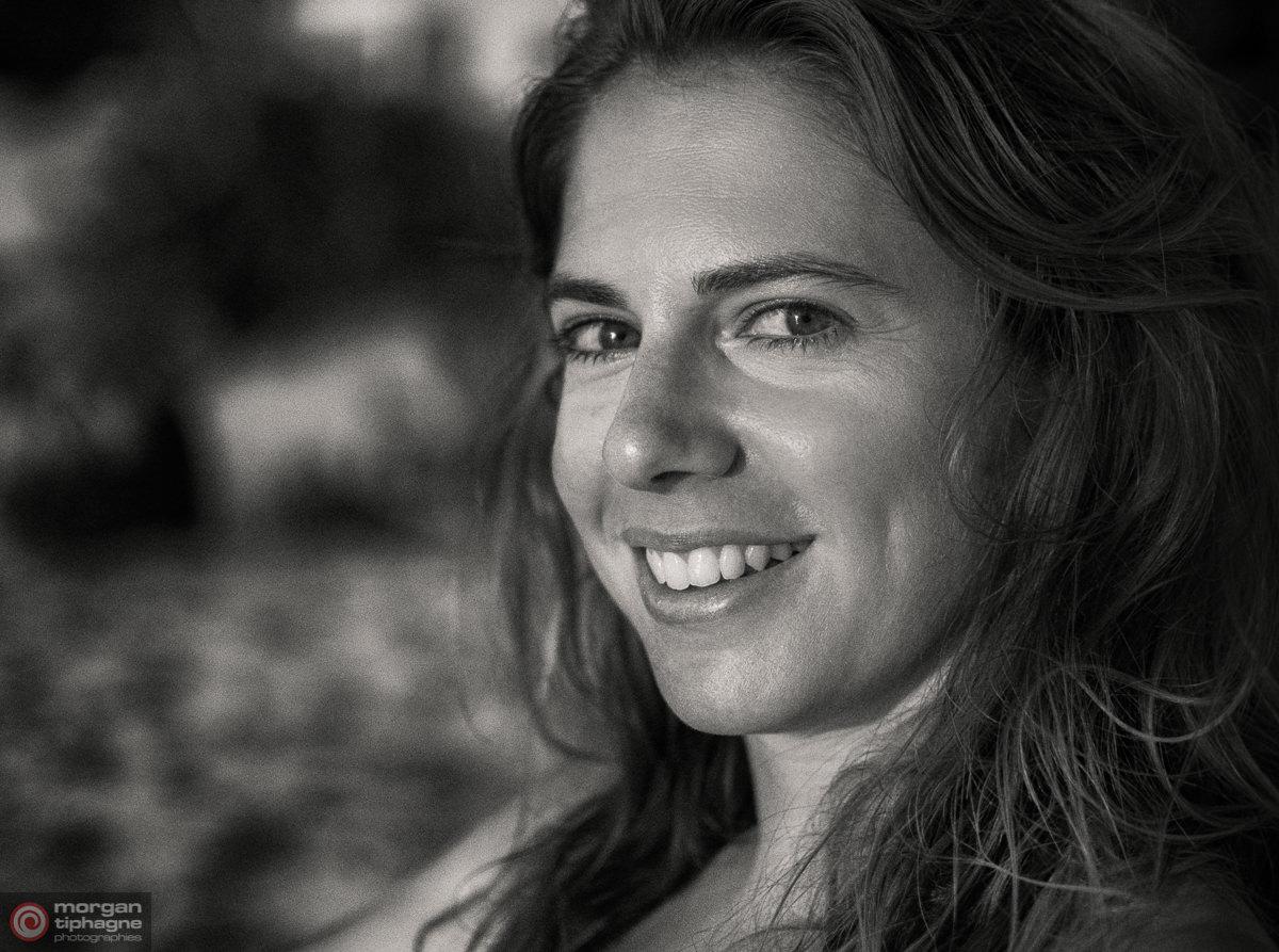 Friendly smile Morgan Tiphagne