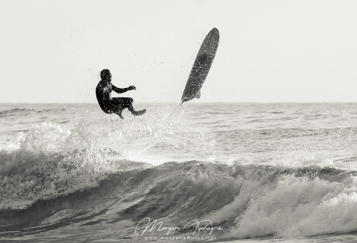 Surfeur sauteur