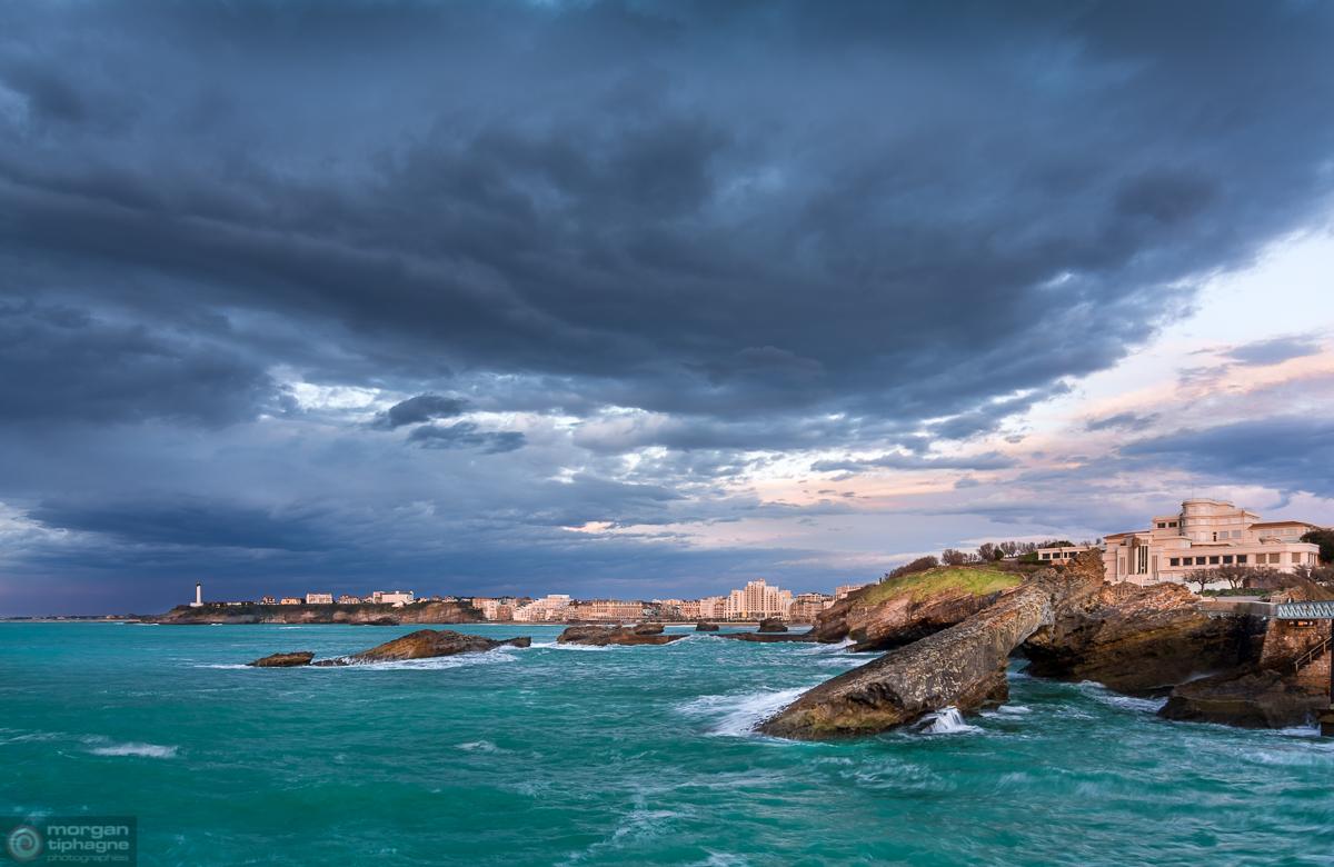 Biarritz seascape Morgan Tiphagne