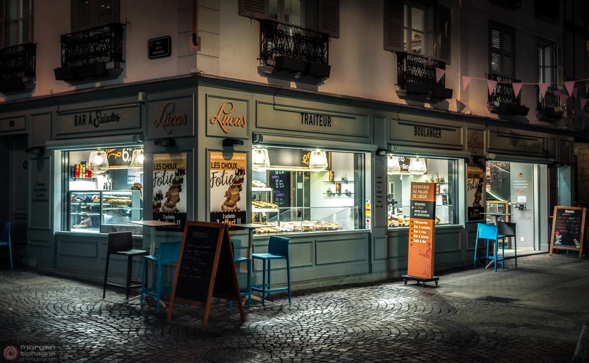Boulangerie de nuit Morgan Tiphagne