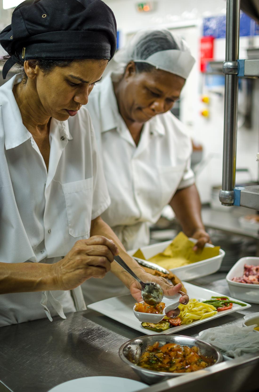 Cooking women