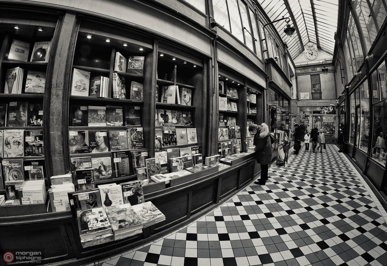 Curvy book shop