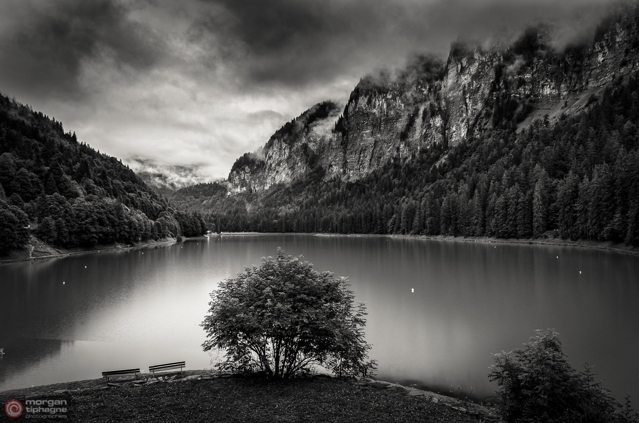 Montriond's lake