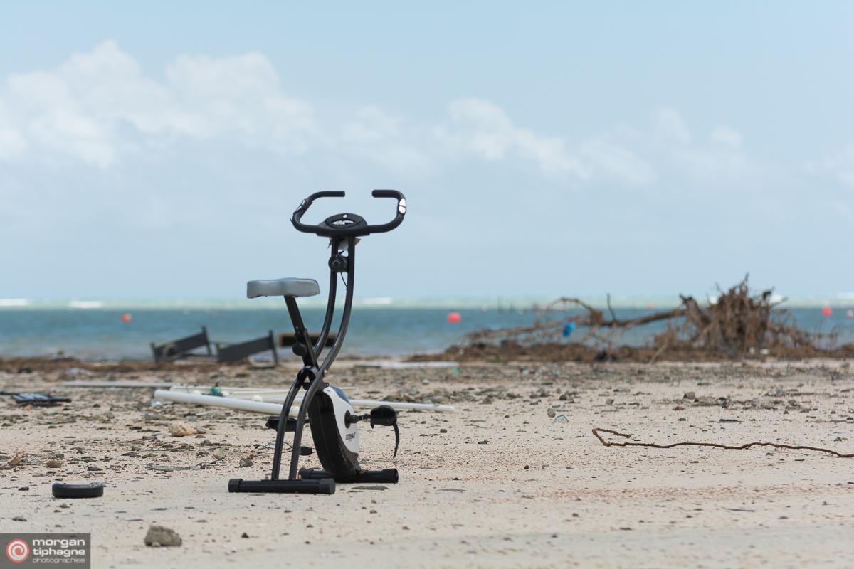 Vélo abandonné