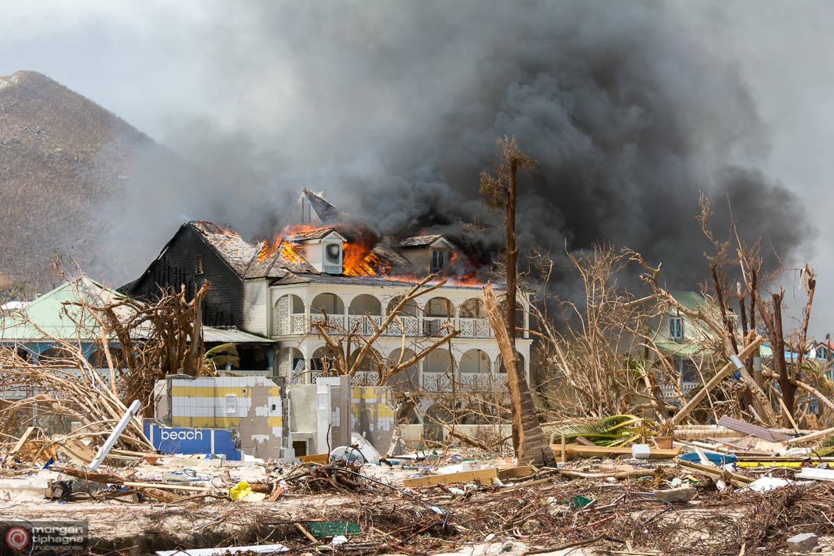 Maison en feu 2