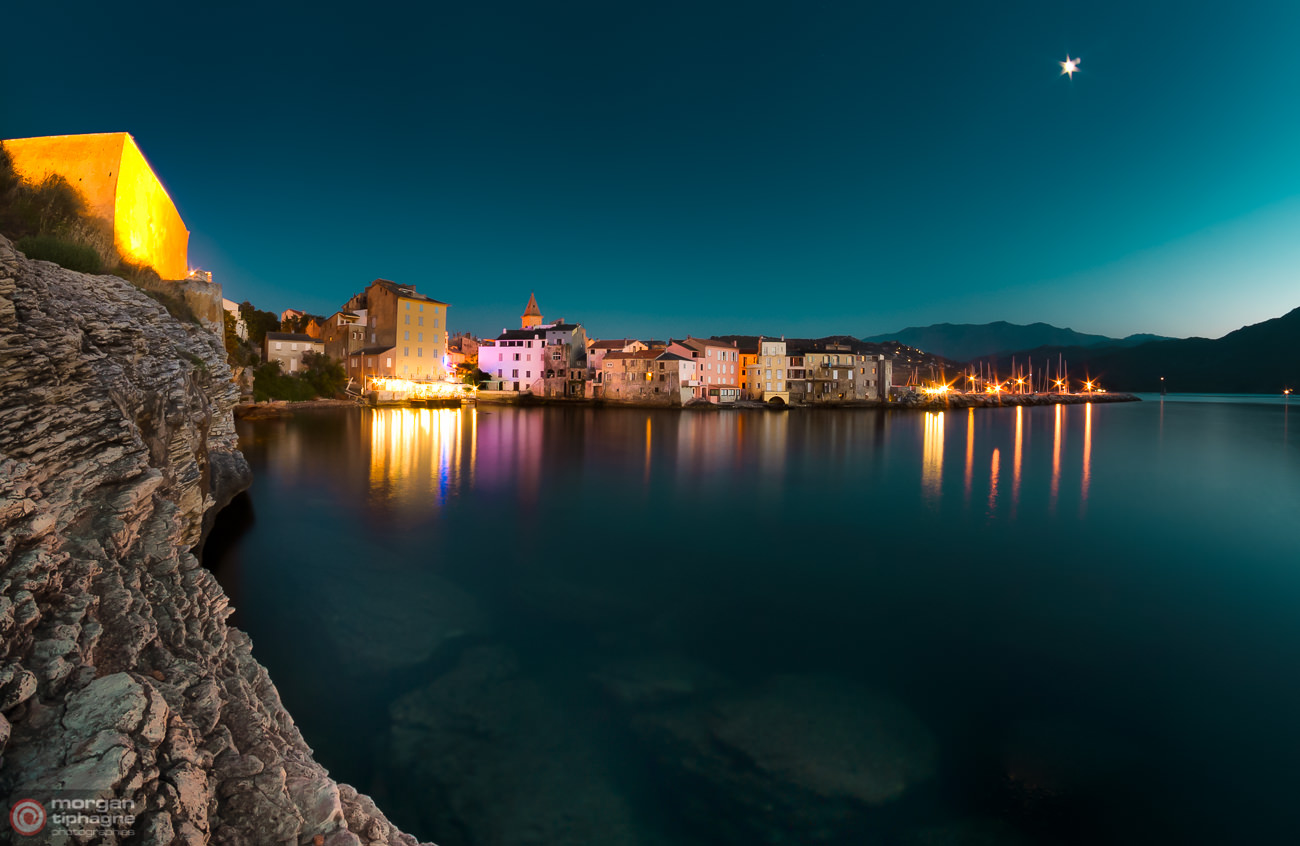 Saint-Florent by night