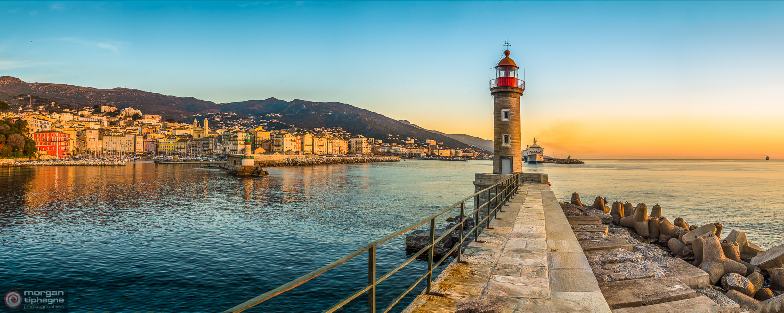 Bastia harbor