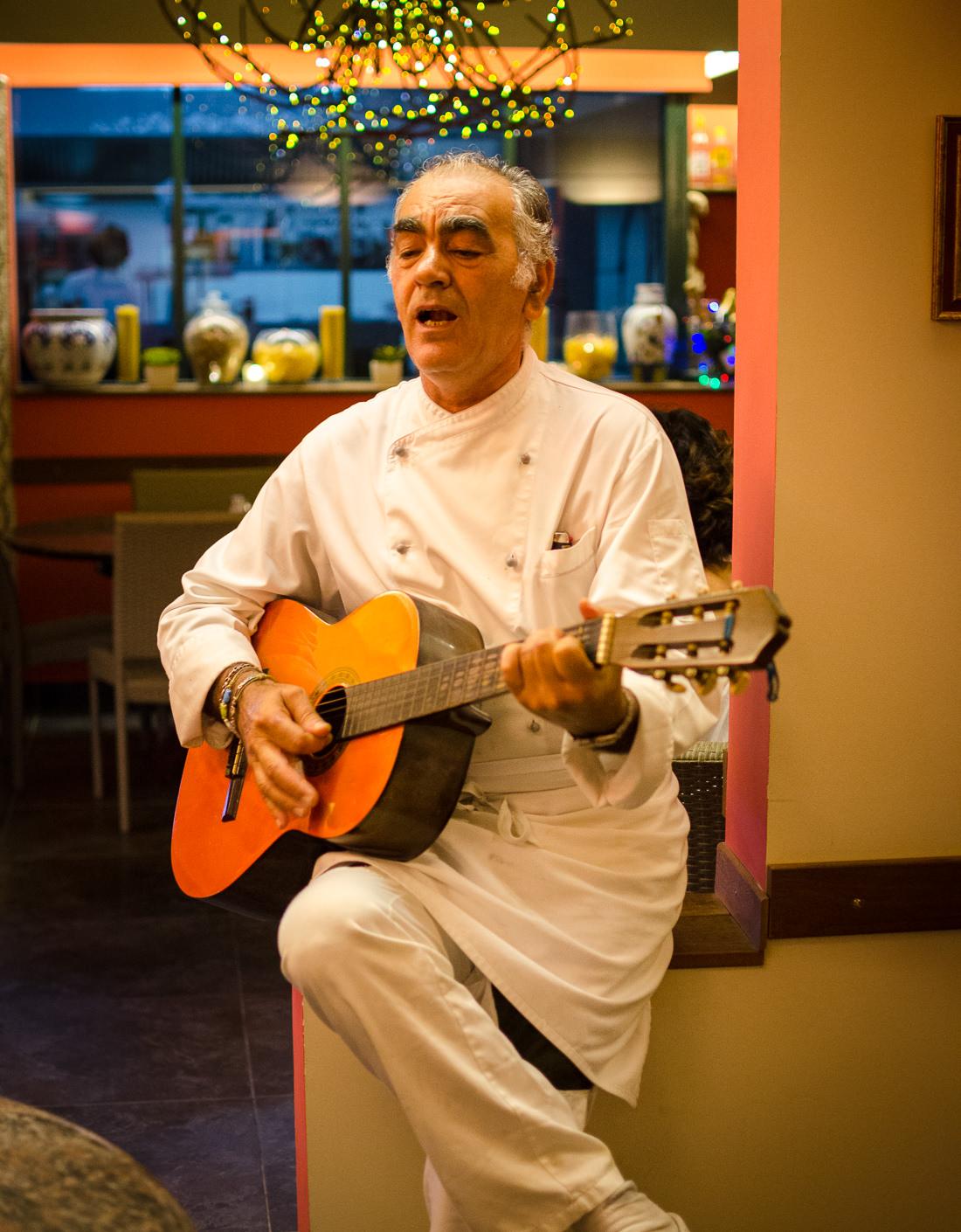 Chef singer