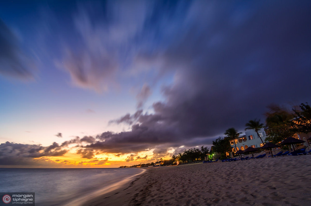 Sunset at Long Bay, Saint-Martin