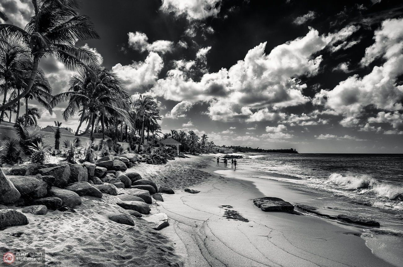 Plum Bay Beach