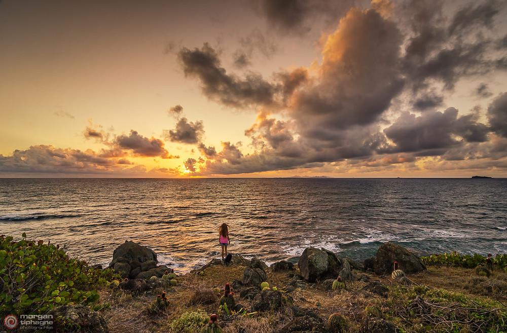 The little girl and the sea Saint-martin Sint Maarten Morgan Tiphagne.jpg