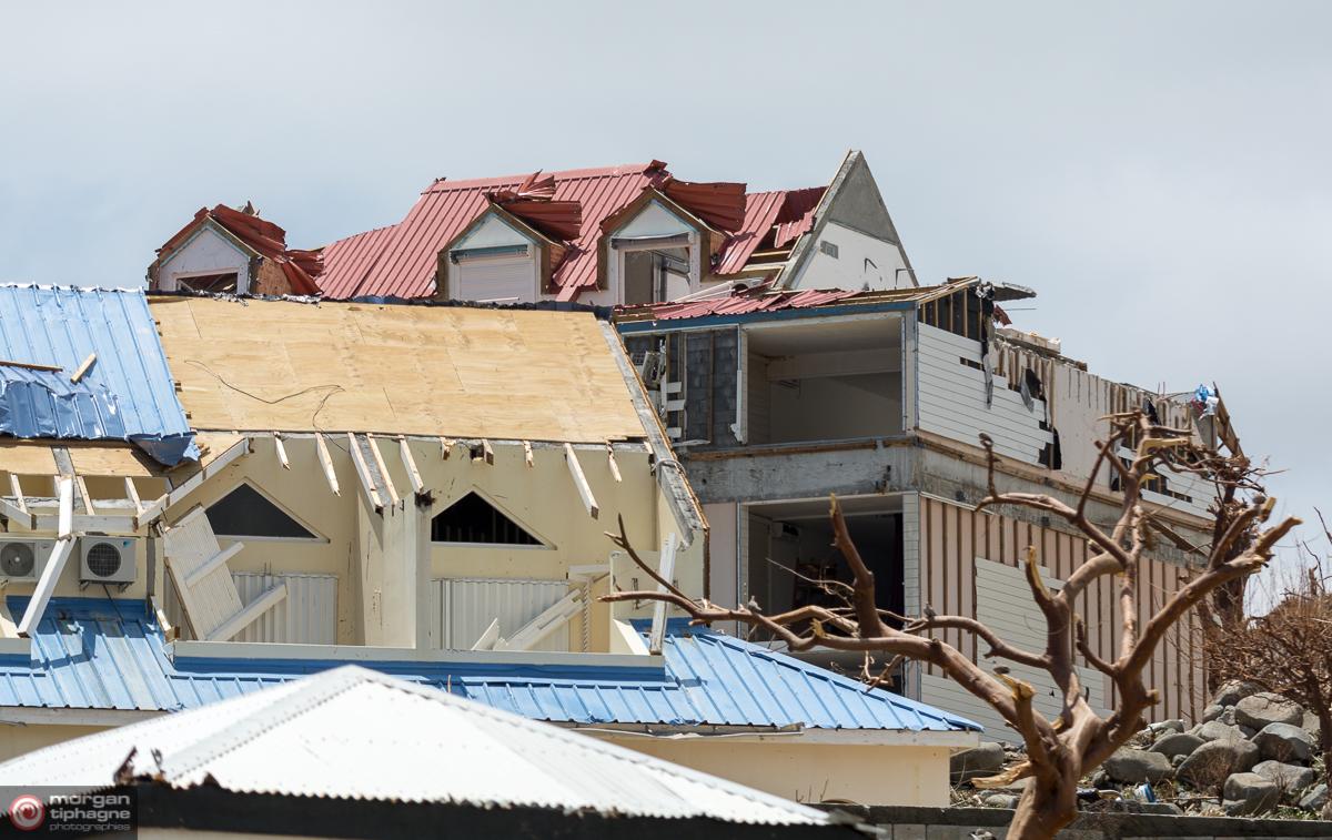 Habitations détruites