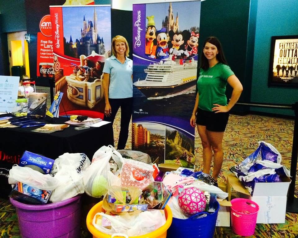 Two Sisters Travel and Charlotte Smarty Pants Collection Drive