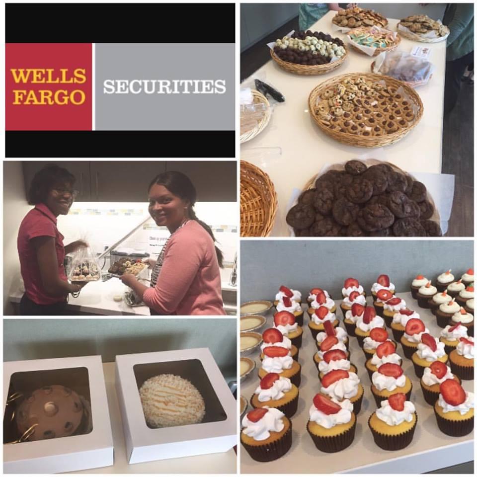 Wells Fargo Bake Sale