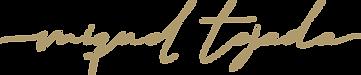 _Miquel Tejada - Logo Principal Manuscri