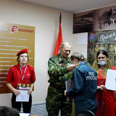 Усть-Абаканское М.О. ветеранов «БОЕВОЕ БРАТСТВО» подвело итоги военно-патриотического месячника