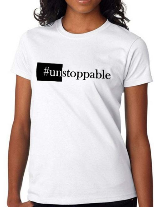 #unSTOPPABLE (White)