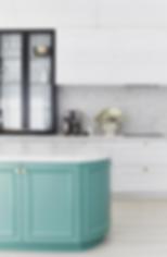 colored green kitchen island suffolk va