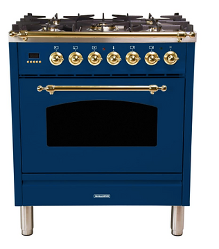 blue oven ideas