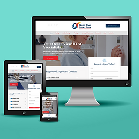 Norfolk VA HVAC Website Design