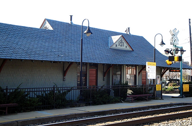 Historic Kensington Train Station