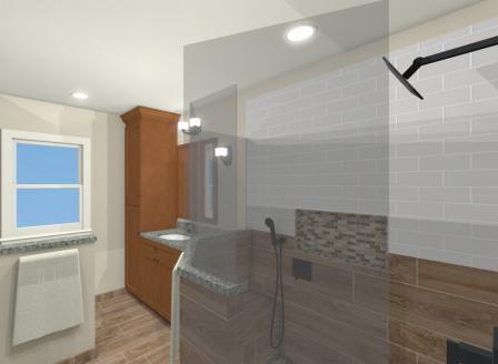 Norfolk, VA Bathroom 3D Model