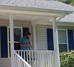 Porch Build in Chesapeake, VA