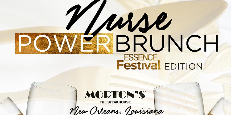 Nurse Power Brunch: Essence Festival Edition