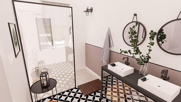 Salle de bain réalisée par skoper