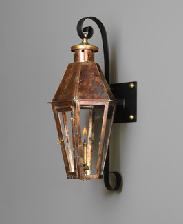 CC-L-2-Hexagon with solid Copper Top and