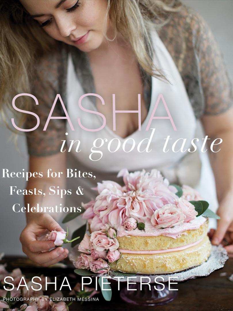 Sasha in Good Taste Cookbook