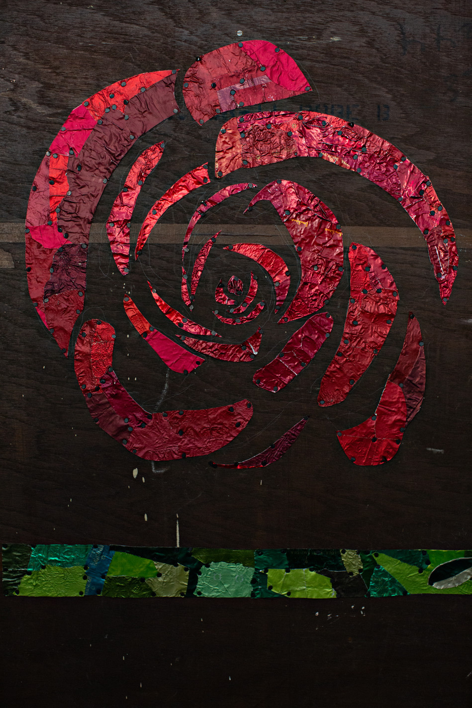 """""""Rose, Yes, Rose,"""" 'Busted Up Chifforobe' series"""
