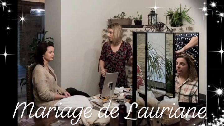 Je vous laisse découvrir la vidéo de notre magnifique mariée de décembre 🖤 Mariage de Lauriane  ~ 8 Décembre 2018 ~   Avec Melanie Portrat Cannelle Coiffure  Avec L' Éclat d' Amande esthéticienne  Avec Les mariées de Laurane boutique de robes & costu