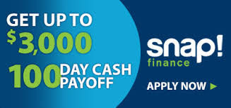Snap Finance deductible financing