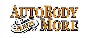 Autobody and More Logo with white border