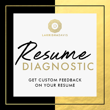 Resume Diagnostic