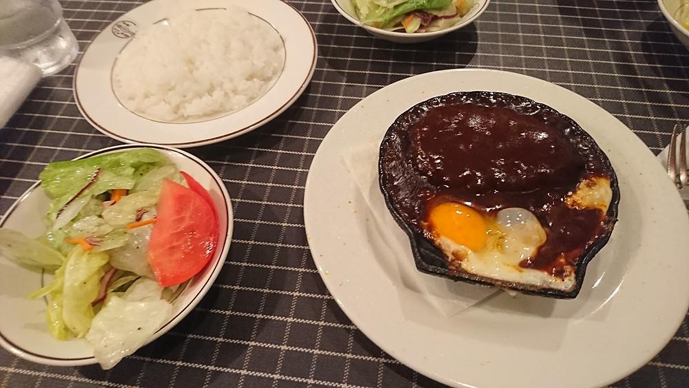 野毛の洋食キムラのハンバーグ