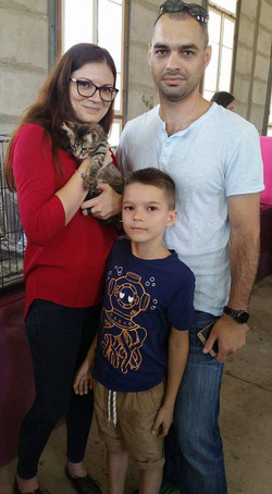 Dekster in a new family