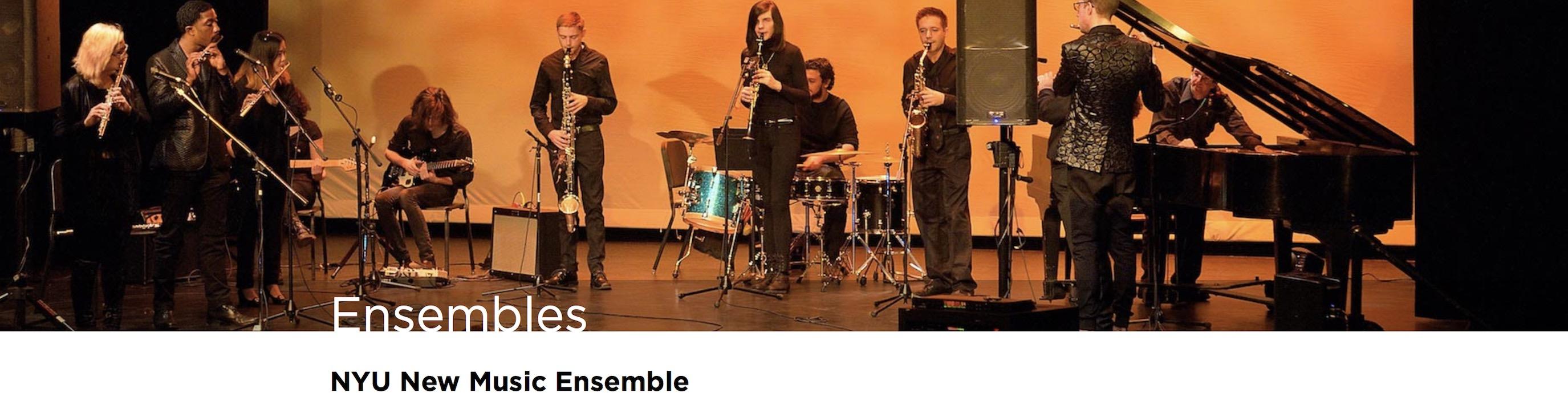 NYU New Music and Dance Ensemble
